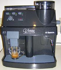 New grayish blue espresso machine
